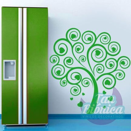 Árbol diseño vinilo decorativo adhesivo sticker