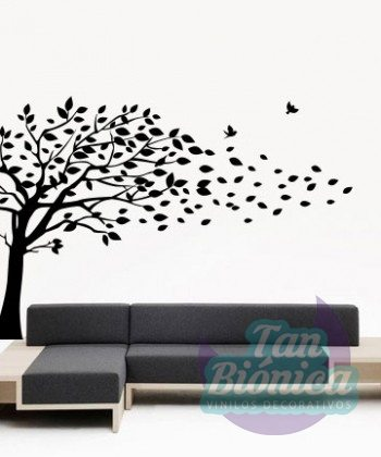 Vinilo Adhesivo Decorativo árbol