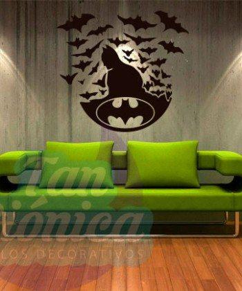 Batman, vinilo adhesivo decorativo, sticker para paredes de tu hogar, películas.
