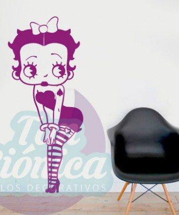 Betty Boop, Talkartoon, Vinilos Adhesivos Decorativos, vinilos para las paredes baratos y económicos. Caricaturas, personajes.