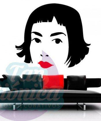 Amelie, película, vinilo adhesivo decorativo, stickers baratos y económicos, empavonados, fotomurales.