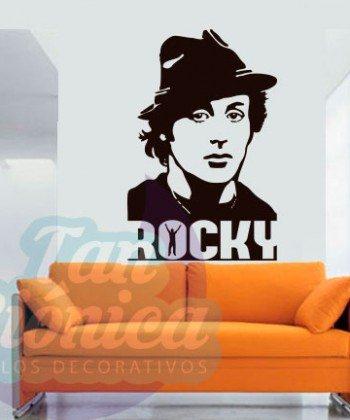 Rocky Balboa películas de acción, vinilos adhesivos decorativos, sticker empavonados y fotomurales baratos y económicos, decoración.