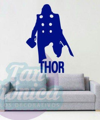 Thor, cómic de marvel. películas y personaje cine. Vinilo Adhesivo Decorativo, sticker para decoración de paredes. Chile. baratos, económicos.