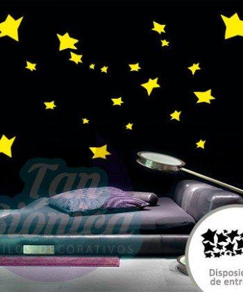 Estrellas de El Principito, Adhesivo decorativo, vinilo sticker, decoración infantil, jóvenes, adultos.