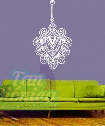 Ornamento Hindú, budismo, diseño y decoración. Vinilo Adhesivo Decorativo. Chile.