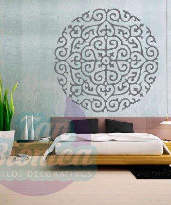 Mandala Vinilo Adhesivo Decorativo, sticker para paredes, empavonados. Envíos a todo chile.