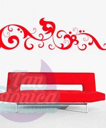 Ornamentos, adornos, decoración con vinilos adhesivos decorativos, stickers, empavonados.