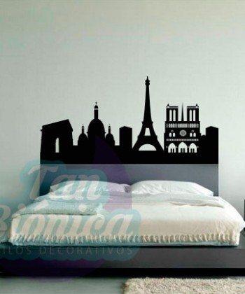 Paris, ciudades europa vinilos adhesivos decorativos para las paredes, mubles, fotomurales y empavonados
