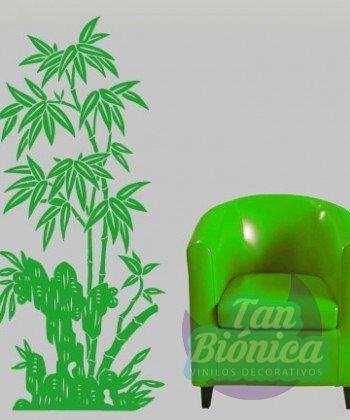 Bambúes, adhesivo