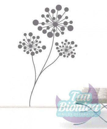 Vinilo decorativo planta