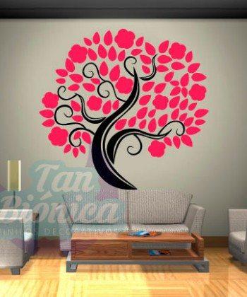Árbol para la pared, vinilo decorativo