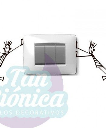 vinilos adhesivos decorativos, sticker empavonados y fotomurales, ideas para decoración, enchufes y interruptores