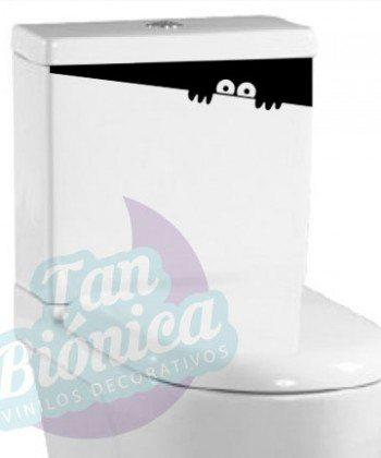 Vinilo Adhesivo Decorativo para WC, baño, sticker para el estanque del baño, fotomurales y empavonados económicos y baratos, Chile.