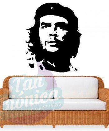 Leyendas de música, cantantes, Vinilos Adhesivos Decorativos, fotomurales, empavonados oficinas, Chile, gratuito, barato y económico. Che Guevara.