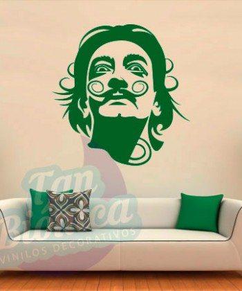Leyendas de música, cantantes, Vinilos Adhesivos Decorativos, fotomurales, empavonados oficinas, Chile, gratuito, barato y económico. Salvador Dalí.