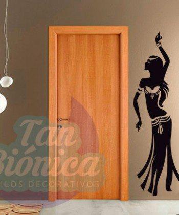 Vinilos Adhesivos decorativos, stickers, empavonados y fotomurales. Baratos y económicos, Pegatinas para las paredes. Bailarina