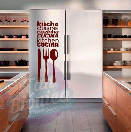 cocina y cafetera vinilo adhesivo decorativo stickers y fotomurales empavonados baratos y
