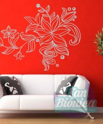 Flora 19 Adhesivo decorativo