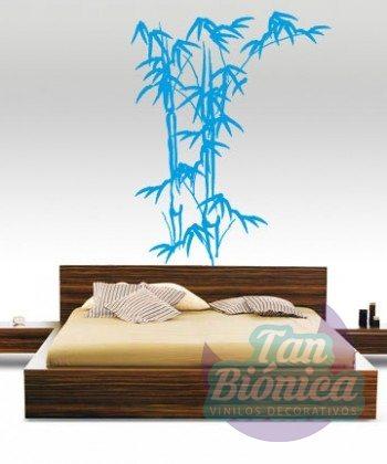 Bambú, flora 32, tanbionica, adhesivo, vinilo