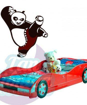 Kung fú panda, vinilo adhesivo decorativo de películas, personajes infantiles.