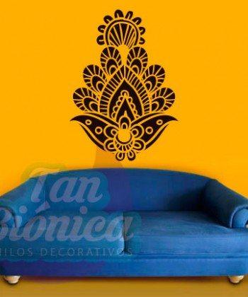 Ornamentos, mandalas adornos, decoración con vinilos adhesivos decorativos, stickers, empavonados.