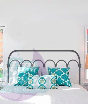Respaldos para cama, Vinilos Adhesivos Decorativos, Stickers, vintage, Decoración Chile.