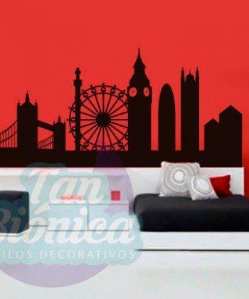 Londres, london adhesivo vinilo decorativo para las paredes, mubles, sticker empavonados y fotomurales