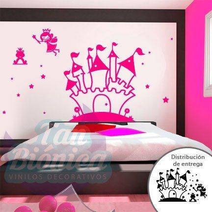 Hadas Vinilos Decorativos Infantiles.Infantil 32 Vinilos Decorativos Tanbionica Cl