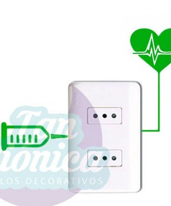 Adhesivos vinilos sticker para interruptores o enchufes, decoración para tu hogar, ideas baratas y económicas. Inyección