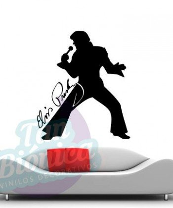 Leyendas de música, cantantes, Vinilos Adhesivos Decorativos, fotomurales, empavonados oficinas, Chile, gratuito, barato y económico, Elvis Presley, Rey del Rock.